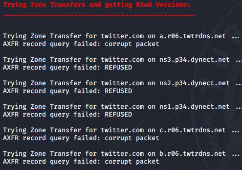 DNSenum Aracı Zone Transfer