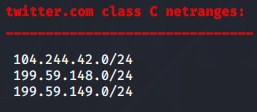 DNSenum Aracı Class C IP Address