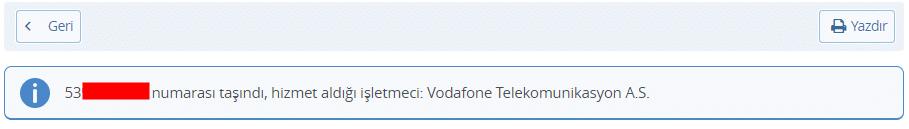 Telefon Numarasından Operatör Sorgulama BTK