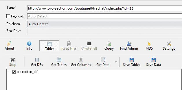 Havij 1.6 Hedef Sitede SQL Açığı Tespiti