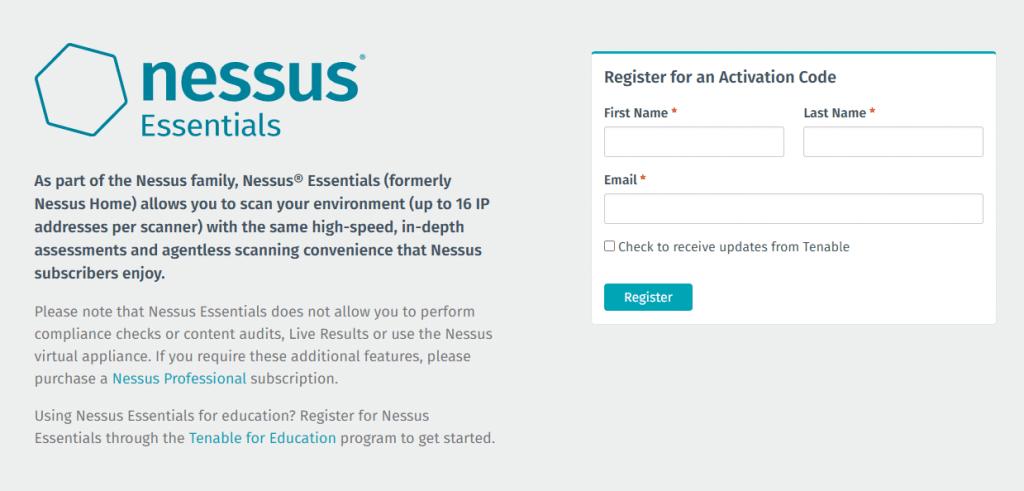 Nessus ile Güvenlik Açığı Tespiti Aracı Kurulumu