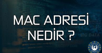 MAC Adresi Nedir?, MAC Adresi Ne İşe Yarar ?