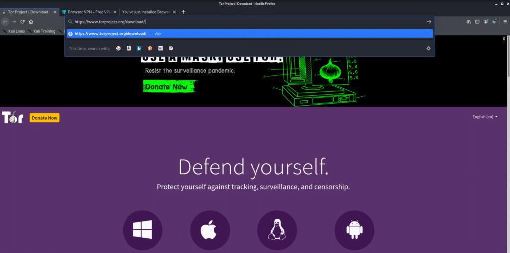 Linux İçin Tor Nasıl Yüklenir